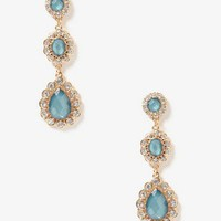 Scalloped Drop Earrings