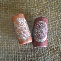 Mandala Dread Beads (Set of 2)