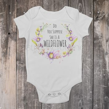 Wildflower Boho Baby Outfit - Boho Baby Outfit