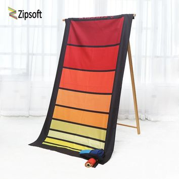 Beach Towel Zipsoft Towels Large Size Quick Dry Swimming Sport Hiking Camping Shower Fibers for Beach pool for Adults