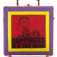 Happiness Is A Sad Song Square Bag