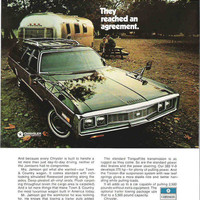 1971 Chrysler Town & Country Wagon Car Advertisement Wall Decor Chrysler Advertisement Chrysler Ad Plymouth Ad Mancave Decor