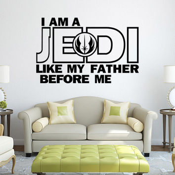 Stylish Star Wars Wall Sticker (58*37cm) = 4152898372