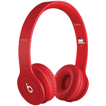 APPLE EA-MH9G2AM/A Beats Solo Drenched Headphones (Red Matte)