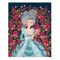 Marie Antoinette Art Print by RIFLE PAPER Co. | Made in USA