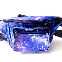Fanny Pack Galaxy Coachella Waist Bag Phanny Pack Tumblr Style Women's Music Festival Accessories A002
