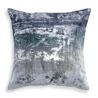 "Donna Karan Ocean Shimmer Ombré Decorative Pillow, 18"" x 18"" - 100% Exclusive 