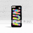 Confetti Run Case Cover for Apple iPhone 4 4s 5 5s 5c 6 6s Plus & iPod Touch