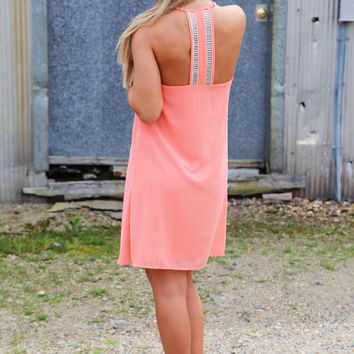 Extra Sweet Peach Dress