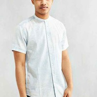 Publish Garvey Stonewash Gingham Short-Sleeve Button-Down Shirt
