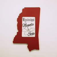 Mississippi picture frame 4x6