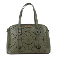 TANUSHRI EYE-LET CUT HANDBAG - NEW ARRIVALS