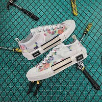 Dior Flowers Technical Canvas B23 Low Sneaker
