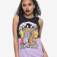 ScoobyNatural Group Dip Dye Girls Muscle Top