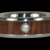 Mens Titanium Diamond Ring – Hawaii Titanium Rings