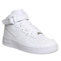 Nike Air Force 1 Mid White - Office Girl