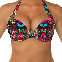Swim Systems Juniper - Ultimate Push Up Halter Top