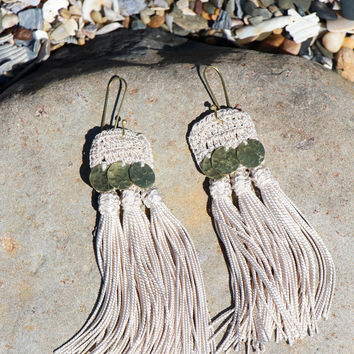 Hamimi Skili Handira Fringe Earrings