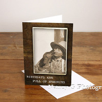 """Greeting Card, dog, Puppy Love, Kisses, Happy Birthday, 5""""x7"""", Card, Note Card, Greeting Cards, by Nancy G Photography, Paper Goods"""