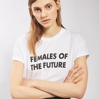PETITE Females Of The Future T-Shirt | Topshop