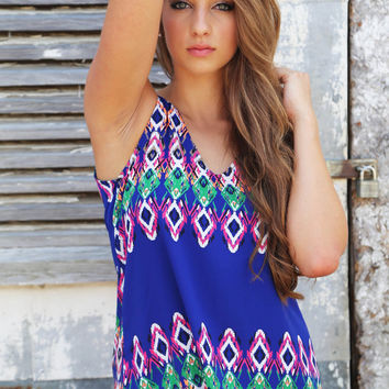 Multi Perspective Tank {Royal}