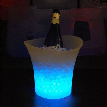 Jaw Dropping, Party Hopping, LED Color Changing Ice Bucket