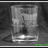 Oregon Trail - You Have Died of Dysentery Tumbler