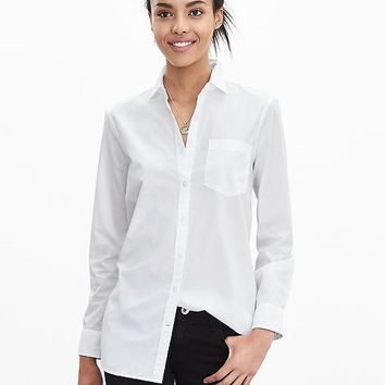Banana Republic Womens Boyfriend Shirt