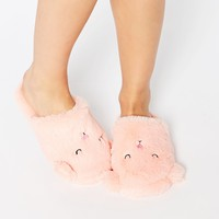 ASOS NIGHT NIGHT Sleepy Ted Slippers