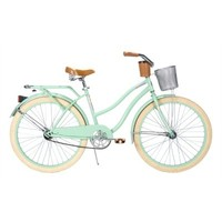 "Huffy 26"" Deluxe Cruiser Bike, Seafoam"