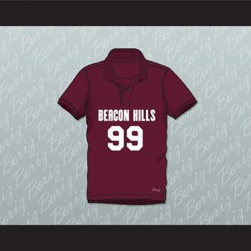 Bobby Finstock 99 Beacon Hills Cyclones Polo Shirt Teen Wolf