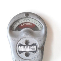 Vintage Park O Meter Industrial Decor