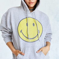 Smiley Face Hoodie Sweatshirt - Urban Outfitters