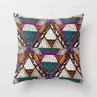 CFCF Throw Pillow by Kris Tate
