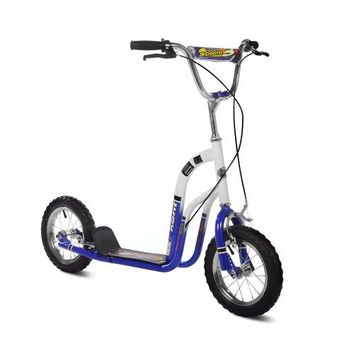 Kent 12in Super Scooter Color: Blue and White
