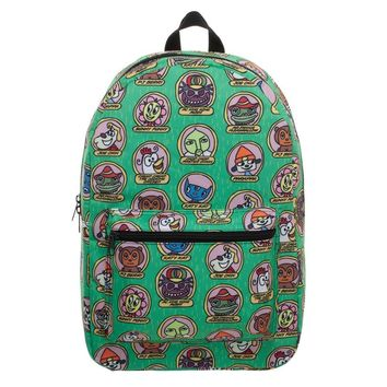 PaRappa The Rappa Characters Backpack