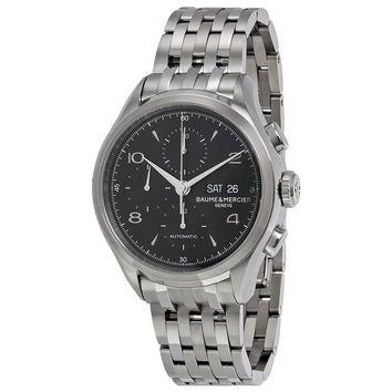 Baume et Mercier Clifton Stainless Steel Mens Watch MOA10212