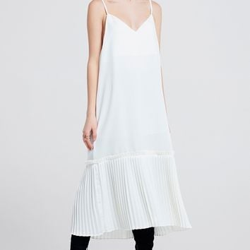 Sally Pleated Shift Dress Discover the latest fashion trends online at storets.com