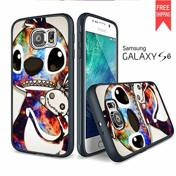 Stitch Disney Galaxy Samsung Galaxy S6 edge Case