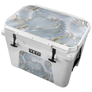 Silver Mercury Skin for the Yeti Tundra Cooler