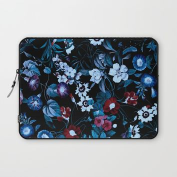 Night Garden XXXII Laptop Sleeve by burcukorkmazyurek