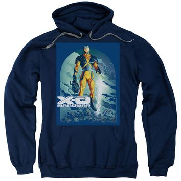 Xo Manowar - Planet Death Adult Pull Over Hoodie