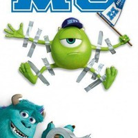 Posters: Monsters University Poster - Tape (36 x 24 inches)