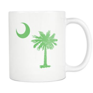 South Carolina Palmetto Moon GREEN