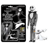 SDCC Exclusive Nightmare Before Christmas Jack Skellington with Zero ReAction Action Figure