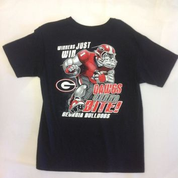 DCCKG8Q NCAA Georgia Bulldogs Youth T Shirt