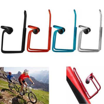 Aluminum Alloy Bike Bicycle Bottle Rack Cycling Drink Water Bottle Rack Holder Cages Bracket Bicycle Accessories Waters Storage