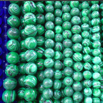 Great Choice 4mm 6mm 8mm 10mm 12mm Malachite Bead