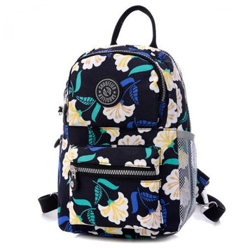 New Waterproof Printing Escolar Emoji Backpack Travel Bag