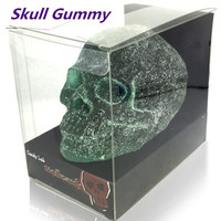 Halloween Soft Skull Candy Harry Potter Candy Fruit Gummy Chinese Food Sweets Gummy Skull 400g Funny Candy Spoof Candy